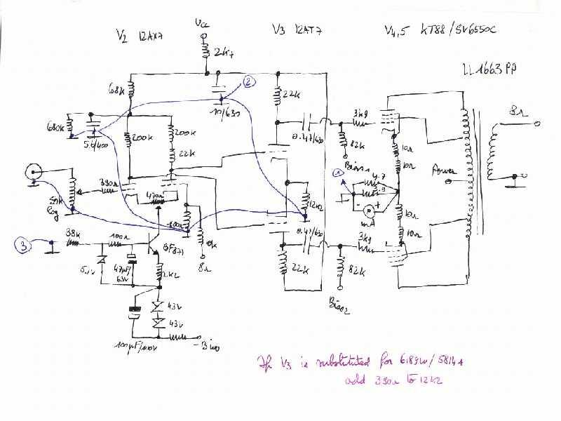 Monoblok KT88 PP amp on el34 amplifier schematic, el84 amplifier schematic, 807 amplifier schematic, quicksilver amplifier schematic, 6sn7 amplifier schematic, 12ax7 amplifier schematic, 6v6 amplifier schematic, tube amplifier schematic, 300b amplifier schematic, triode amplifier schematic, 2a3 amplifier schematic, push pull amplifier schematic, diy amplifier schematic, 6ca7 amplifier schematic, 6l6 amplifier schematic, 6aq5 amplifier schematic, stereo single ended valve amplifier schematic, 811a amplifier schematic,